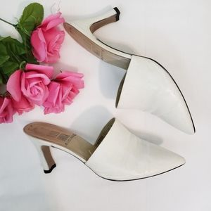 💗3for25 RUSH HOUR  Vintage Point Toe Mules